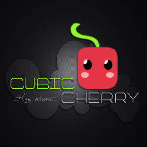 logo .__Cubic Cherry Kre-ations__.